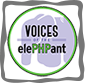 Voices of the ElePHPant logo